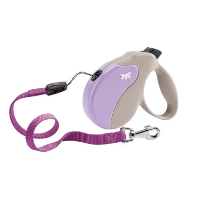 Amigo Cord Purple Leash